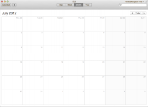 iCal silver theme