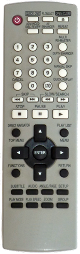 original DVD remote